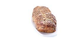 przecięcie chleb Obrazy Stock