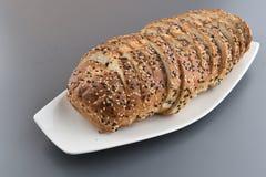 przecięcie chleb Zdjęcie Royalty Free