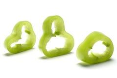 przecięcie pepper Zdjęcie Stock