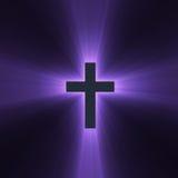 przecinającego racy święty światło - purpura ilustracji