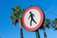 Przecinający prohibicja znak zdjęcie royalty free