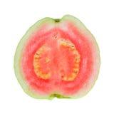 przecinającego guava czerwona sekcja Zdjęcie Royalty Free