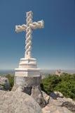 przecinający Alta cruz wysoki Portugal Obrazy Royalty Free