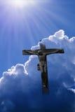 przecinający bóg Jesus Fotografia Stock