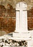 Przecinający Gravemarker zdjęcie royalty free