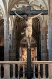przecinający Jesus Obrazy Royalty Free
