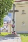 Przecinający Katyn Obraz Royalty Free