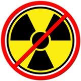 przeciw atomowi Zdjęcia Stock