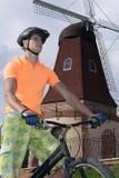 przeciw bicyklu młynu setkarzowi zdjęcia royalty free