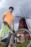 przeciw bicyklu młynu setkarzowi obrazy royalty free