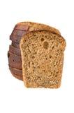przeciw chlebowego kawału rżniętej bochenka rodzynce Zdjęcia Royalty Free