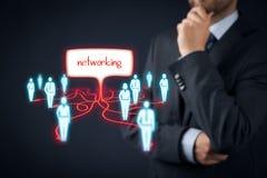 przeciw pojęcie błękitny barwionej sieci networking piszczy niebo Obrazy Stock