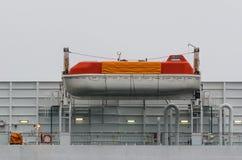 Przeciwawaryjna łódź zdjęcia stock