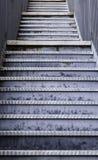 Przeciwawaryjni metali schodki Obraz Royalty Free