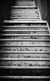 Przeciwawaryjni metali schodki Zdjęcie Royalty Free