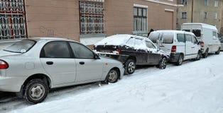 Przeciwawaryjni zim emergencies obrazy stock