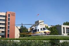 przeciwawaryjny helikopter Zdjęcia Stock