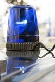 przeciwawaryjny rozblaskowy światło Zdjęcie Royalty Free