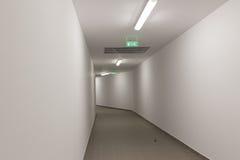 Przeciwawaryjny tunel zdjęcia royalty free