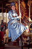 przeciwu lepidopterist steampunk na zachód dziki Zdjęcie Royalty Free