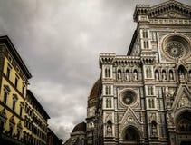 Przed Duomo Zdjęcia Stock