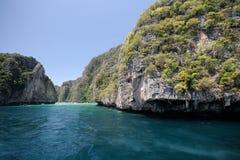 Przed Phi Phi wyspą Tajlandia Obrazy Royalty Free