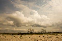 Przed thunderstorm_1 Zdjęcia Stock