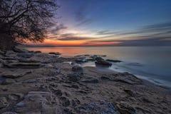 Przed wschodem słońca Fotografia Stock