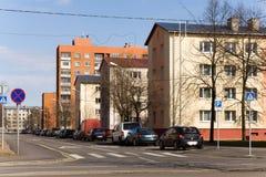 przedmieście Tallinn Obrazy Royalty Free
