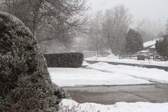 przedni zasięgu śnieg Zdjęcia Stock