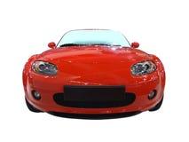 przednia czerwony kabriolet Zdjęcia Royalty Free