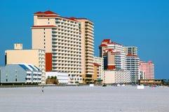 przednia plażowa nieruchomości Fotografia Stock