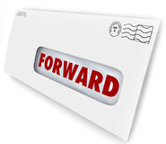 Przednia poczta wakacje przerwy dostawa Wysyła Nowego adres royalty ilustracja