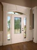 przednie drzwi domu luksusu model Fotografia Royalty Free