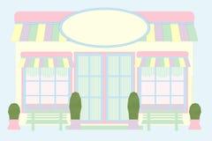 przednie patroszonej myszy pastelowy sklepu Zdjęcie Royalty Free