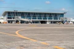 Przedpole przy Clark lotniskiem, Clark, Filipiny, Dec 21,2018 zdjęcia royalty free