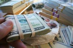 Przedsiębiorców Biznesowi zyski Wysokiej Jakości obraz stock