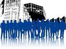 przedsiębiorców budowlanych ilustracja wektor