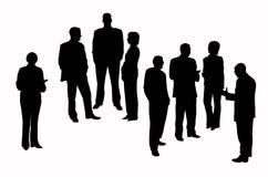 przedsiębiorcy royalty ilustracja
