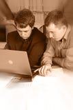 przedsiębiorcy pracują razem obrazy royalty free