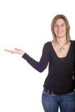 przedstawić kobietę Obrazy Stock