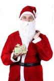 przedstawia Santa Zdjęcia Stock