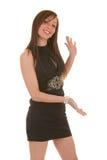 przedstawiający dosyć brunetki target966_0_ przedni Zdjęcie Royalty Free