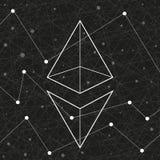 Przedstawicielstwo Ethereum sieć Zdjęcia Stock
