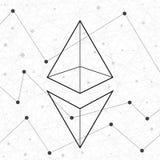 Przedstawicielstwo Ethereum sieć Zdjęcia Royalty Free