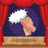 Przedstawienie i teatr ilustracji