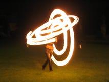 przedstawienie ognia Zdjęcie Royalty Free