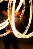 przedstawienie pożarnicza pochodnia przekręca zhangler Obraz Royalty Free