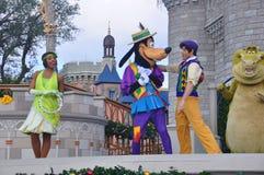 Przedstawienie przy Magicznym królestwo parkiem, Walt Disney Światowy kurort Orlando, Floryda, usa Fotografia Stock