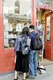 przedstawienie sklepowy okno Zdjęcia Stock